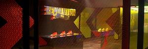 Universal Event Production crea una experiencia multimedia basada en el deporte durante la Nike Phenomenal House