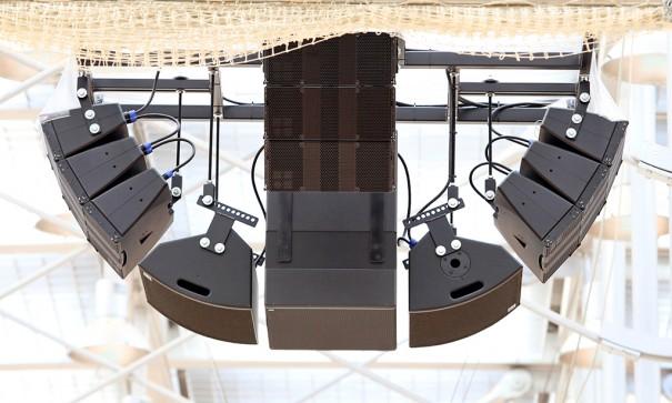 Sistema de sonido d&B en el Horst Korber