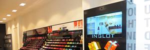 La pantalla transparente de Aopen proporciona a Inglot una herramienta para diferenciarse de su competencia