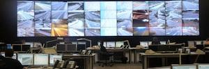 Las autopistas de Portugal, más seguras gracias al videowall de Panasonic