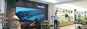 Cayin Innisfree helps create an immersive experience that combines technology and nature