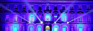 Elation crea puentes de luz para iluminar la Universidad de Bonn en la celebración de la Noche de la Ciencias