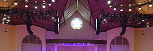 La iglesia Christ Chapel Bible Church optimiza su sistema de sonido con L-Acoustics