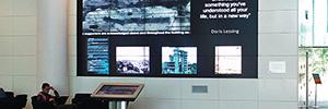 La Universidad de Aberdeen gestiona los videowalls de su biblioteca con RGB Spectrum