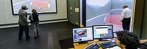 Renault crea un entorno de realidad virtual inmersivo con resolución 16K en su sede de París
