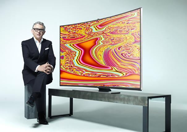 Samsung con Miguel Chevalier en IFA14