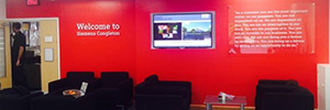 Siemens in United Kingdom offices improving internal communication thanks to digital signage