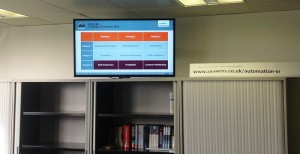 Siemens UK apuesta digital signage