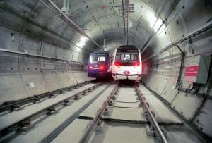 Tunel Metro Madrid