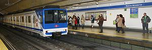 Metro de Madrid ofrecerá publicidad dinámica en los túneles de la Línea 8 mediante sistemas LED