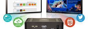Cayin debut in the next generation of digital signage players with software for SMP-Neo