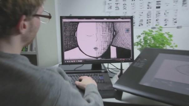 Cine de animacion Dawit con NEC