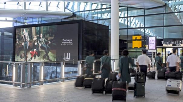 Heathrow T2 JCDecaux