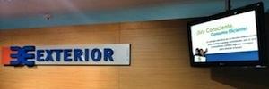 Banco Exterior de Venezuela apuesta por la cartelería digital con un sistema centralizado de información dinámica