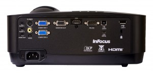 InFocus IN124A parte posterior
