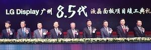 """LG Display inaugura su primera planta de paneles LCD de más de 40"""" en China"""