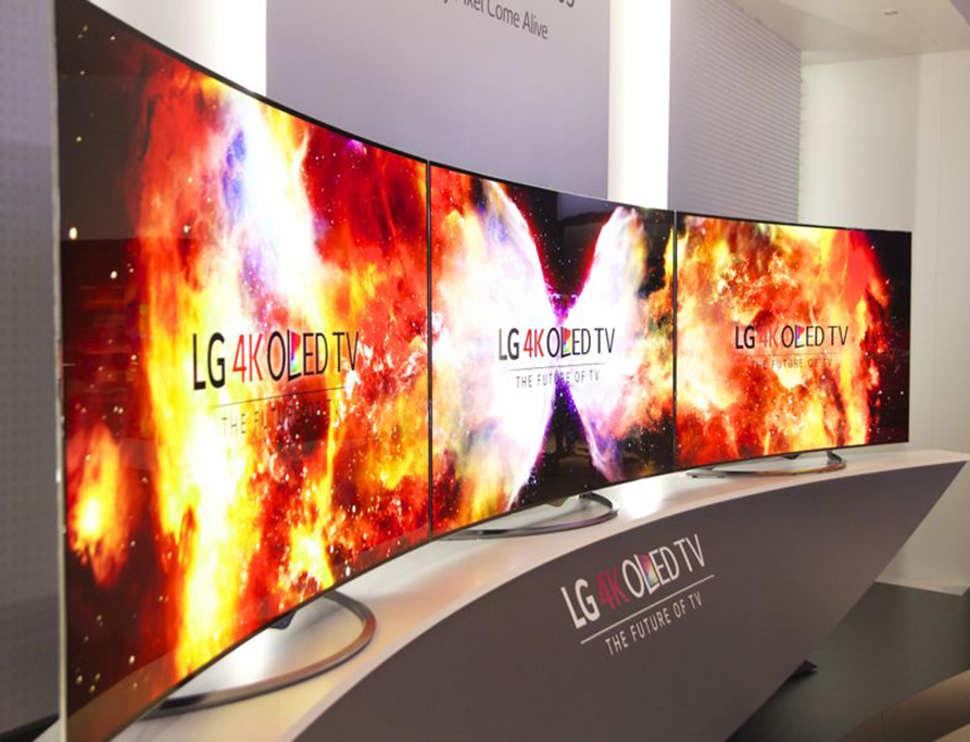 lg presenta en ifa 2014 sus televisores curvos oled con resoluci n 4k. Black Bedroom Furniture Sets. Home Design Ideas
