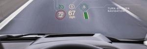 Land Rover opta por la tecnología holográfica láser con el sistema HUB en su nuevo vehículo