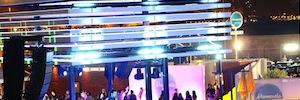 Los equipos de Ixon Light iluminan el espacio multidisciplinar Marmarela de Alicante
