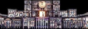 Bucarest apuesta por la videoproyección 3D en la fachada del Parlamento para conmemorar su 555 aniversario