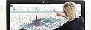 Microsoft iniciará la producción de pantallas táctiles de gran formato de Perceptive Pixel
