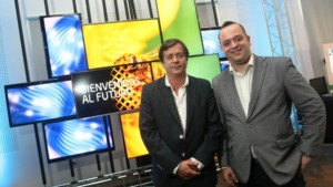 Miguel Branca, director ejecutivo Ploy y José Luis Martínez Bueno, Country Manager onthespot en Argentina