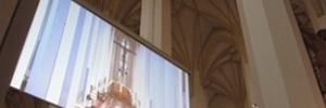 Panasonic brings its display and projection technology to the Cathedral of our Lady in Munich