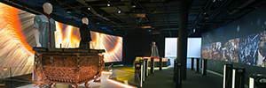 The technology AV from Panasonic gives life to the legacy historical of the Museum Olympic of Lausanne