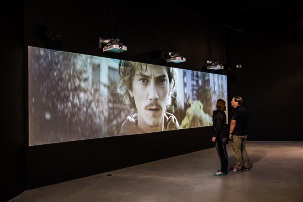 Proyector Sony en ARoS Aarhus Kunstmuseum