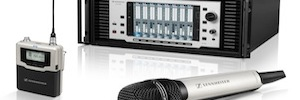 Sennheiser shows its solutions HD Audio e Inmersive Audio for systems UHD