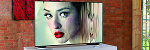 Sharp se introduce en el mercado 4K con el televisor UD20