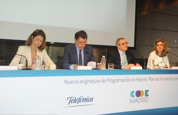 Telefonica y CAM presentan Code Madrid