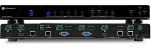 Atlona CLSO - 612, switch HDBaseT with resolution 4K for training rooms and auditoriums