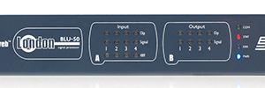 BSS Audio BLU-50: procesador de arquitectura abierta para instalaciones fijas