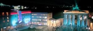 Berlín se llena de luz, imágenes y colores en la X edición del Festival de Luces