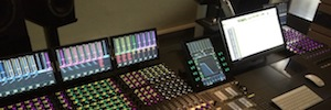 CSS Audiovisual audio sector shows the possibilities of the Avid S6 console