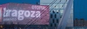 Los ciudadanos de Zaragoza participan en un proyecto social que se mostrará en la fachada digital Etiopía