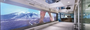 Havas Media streamlines its presentations of business in large-format projection screens