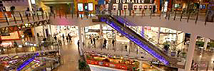 The Swedish shopping mall Heron City updated its sound system with MediaMatrix