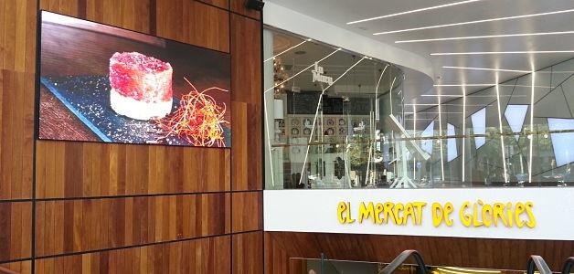 El mercat de gl ries de barcelona impulsa su imagen con for El mercat de les glories