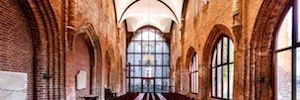 Lutron Electronics harmonizes lighting and sound in the renovated Abbey Dargun