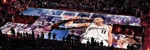 Las tecnologías de digital signage y mapping 3D toman la cancha de los Cavaliers para recibir a LeBron James