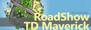 TD Maverick channel shows the latest professional AV in the Roadshow of Tech Data solutions