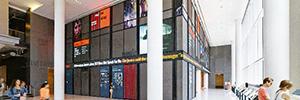 NPR ha apostado por la señalización digital para su sede en Washington