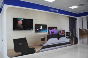 Showroom Samsung Charmex Green Building