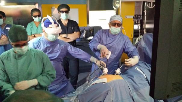 Sony HMS-3000MT en cirugia