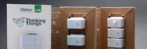 Telefónica comercializa el primer producto para el Internet de las Cosas con Thinking Things