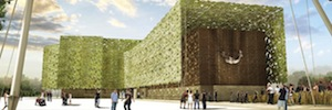 Tres60 group will be audiovisual production immersive of the Spain Pavilion in Expo Milan 2015