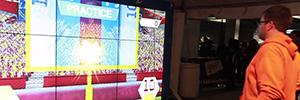 Los Redskins crean un espacio interactivo y audiovisual para los aficionados en el FedEx Field