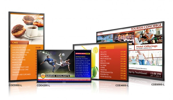 ViewSonic linea CDE Digital Signage